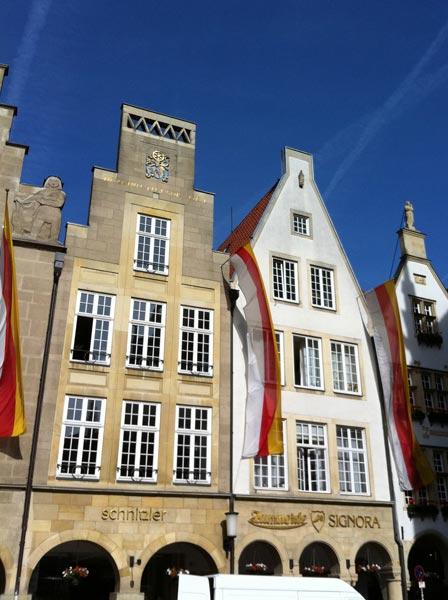 Umbau Giebel Innenstadt Münster